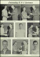 1959 Roswell High School Yearbook Page 54 & 55
