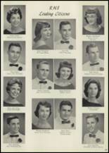 1959 Roswell High School Yearbook Page 66 & 67