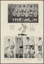 1963 Crescent High School Yearbook Page 42 & 43
