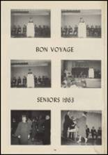 1963 Crescent High School Yearbook Page 68 & 69