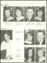 1965 Fall River High School Yearbook Page 34 & 35