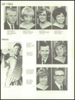 1965 Fall River High School Yearbook Page 40 & 41