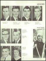 1965 Fall River High School Yearbook Page 42 & 43