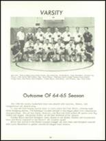 1965 Fall River High School Yearbook Page 92 & 93