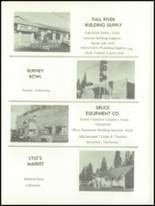 1965 Fall River High School Yearbook Page 114 & 115