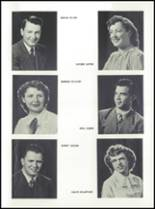 1952 Rockford High School Yearbook Page 20 & 21