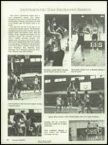 1983 Bloomfield High School Yearbook Page 112 & 113