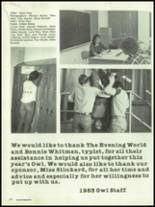 1983 Bloomfield High School Yearbook Page 180 & 181
