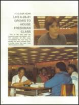 1981 Lowndes High School Yearbook Page 14 & 15