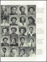 1981 Lowndes High School Yearbook Page 54 & 55