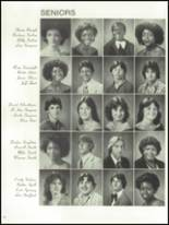 1981 Lowndes High School Yearbook Page 56 & 57