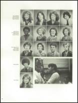 1981 Lowndes High School Yearbook Page 72 & 73