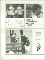1981 Lowndes High School Yearbook Page 252 & 253