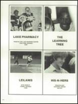 1981 Lowndes High School Yearbook Page 256 & 257