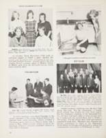 1963 Maine East High School Yearbook Page 32 & 33