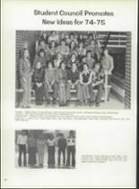 1975 Eastern High School Yearbook Page 24 & 25