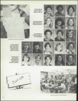 1981 Patch American High School Yearbook Page 42 & 43