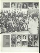 1981 Patch American High School Yearbook Page 50 & 51