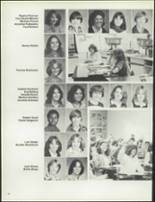 1981 Patch American High School Yearbook Page 54 & 55