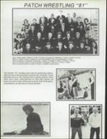1981 Patch American High School Yearbook Page 112 & 113