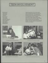 1981 Patch American High School Yearbook Page 128 & 129