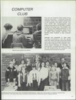 1981 Patch American High School Yearbook Page 134 & 135