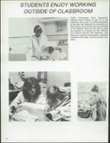 1981 Patch American High School Yearbook Page 142 & 143