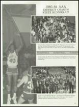 1984 Haughton High School Yearbook Page 104 & 105
