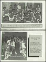 1984 Haughton High School Yearbook Page 110 & 111