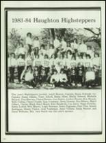 1984 Haughton High School Yearbook Page 222 & 223