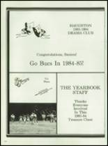 1984 Haughton High School Yearbook Page 228 & 229