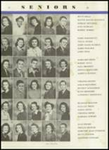 1944 Crawfordsville High School Yearbook Page 34 & 35