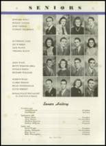1944 Crawfordsville High School Yearbook Page 36 & 37