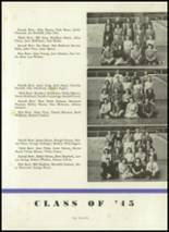 1944 Crawfordsville High School Yearbook Page 44 & 45