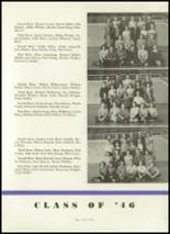 1944 Crawfordsville High School Yearbook Page 46 & 47