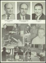 1962 Monticello High School Yearbook Page 20 & 21