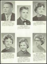 1962 Monticello High School Yearbook Page 24 & 25