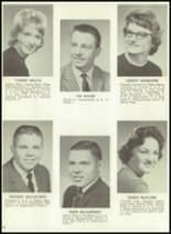 1962 Monticello High School Yearbook Page 30 & 31