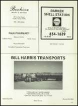1982 Baird High School Yearbook Page 158 & 159
