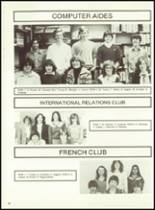 1982 Minerva-Deland High School Yearbook Page 66 & 67