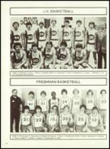 1982 Minerva-Deland High School Yearbook Page 80 & 81