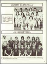 1982 Minerva-Deland High School Yearbook Page 84 & 85