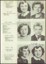1952 Allegany Central School Yearbook Page 14 & 15