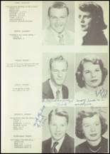 1952 Allegany Central School Yearbook Page 20 & 21