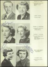 1952 Allegany Central School Yearbook Page 22 & 23