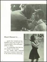 1966 Mt. Pleasant High School Yearbook Page 12 & 13