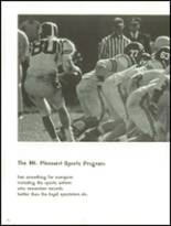 1966 Mt. Pleasant High School Yearbook Page 80 & 81
