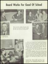 1954 Monticello High School Yearbook Page 12 & 13