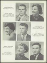 1954 Monticello High School Yearbook Page 20 & 21