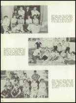 1954 Monticello High School Yearbook Page 34 & 35